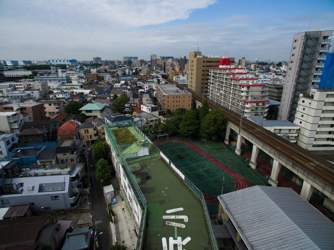 屋上から南側を撮影